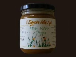 Miele, polline e pappa (250 g)